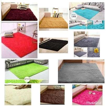 5x8 fluffy Carpets image 1