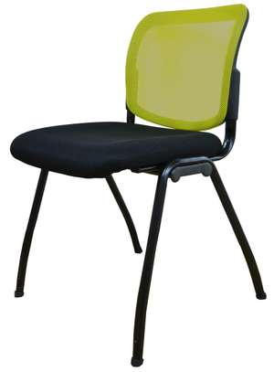 Green  visitors chairs