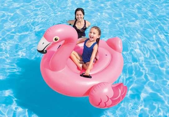 Flamingo Ride-on Swimming Floater image 3