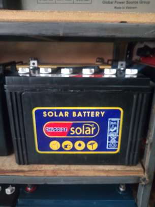 75 Ah solar battery image 1