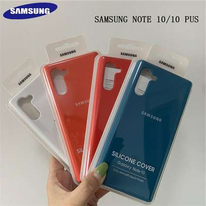 Silicone Case for Samsung Note 10/Note 10 Plus image 3