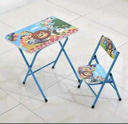 Kids foldable chair+foldable seat set image 9