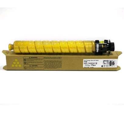 Yellow mpc6003 toners image 1