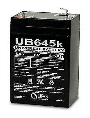 Battery 6 Volt 4 Ah Sealed Lead Acid Battery image 1