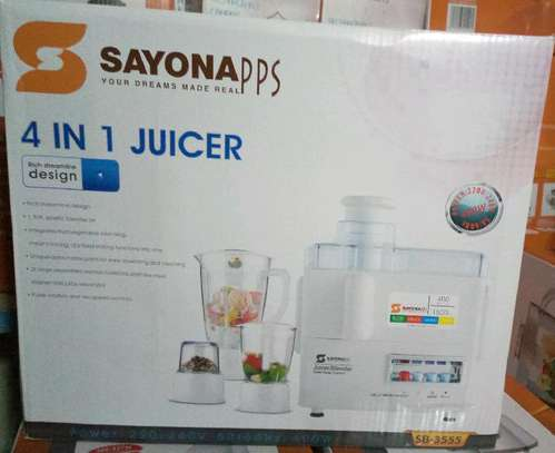 4 in 1 JUICER image 1