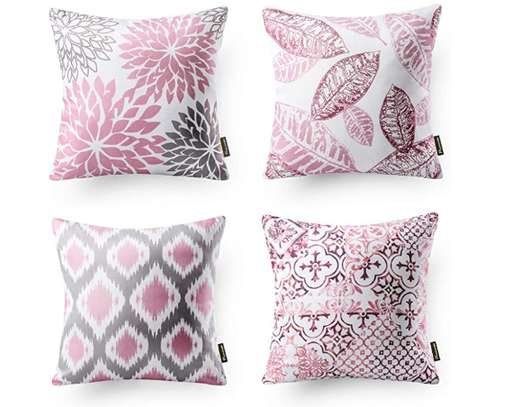 Decorative Unique Throw Pillow Case Cushion Covers a set of 4 pieces at Ksh. 3200 image 15