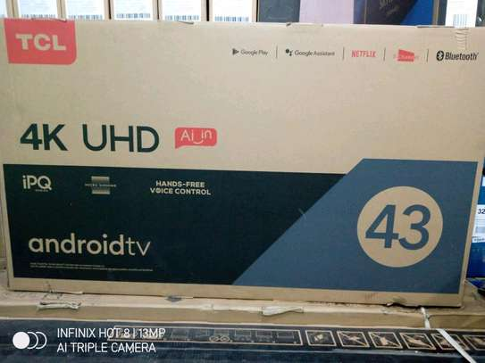 TCL 43 Smart TV 4K Android TV UHD(Brand New) image 1