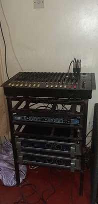 PA Public Address System, Amp, Crossover Mixer Speaker image 4