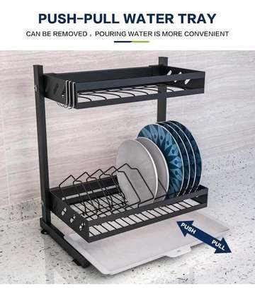 Stainless steel dish rack image 2