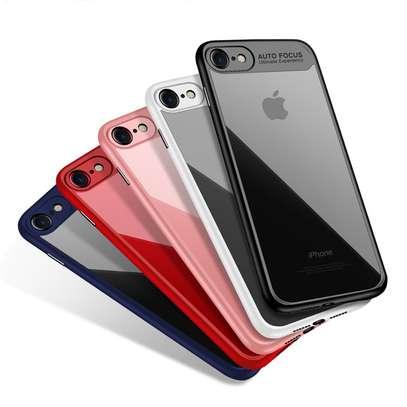 AUTO FOCUS Transparent Shockproof Silicone Phone Case For iphone x xs max xr Coque Cover For iphone 6 7 8 6splus 7plus image 2