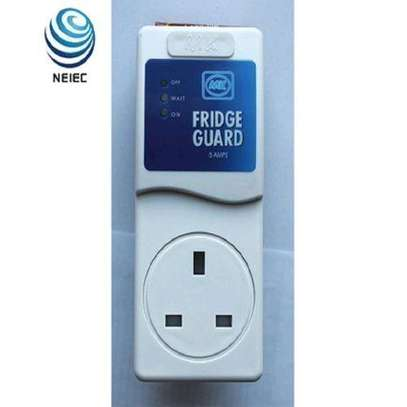 MK Fridge Guard-Voltage Stabilizer- White. image 1
