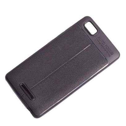 Generic Tecno W3- Auto Focus Phone Back Cover-Black image 1