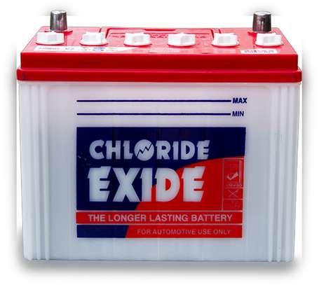 CHLORIDE EXIDE NS60 BATTERIES