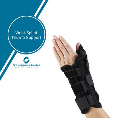 Wrist splint with thump support image 2
