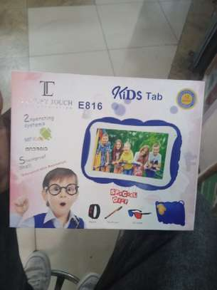 I-touch Educational Kid's Tablet - Blue image 1