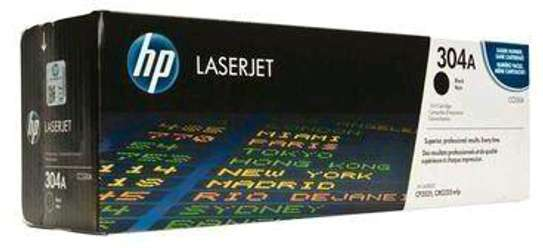 304A black only CC530A printer HP LaserJet,HP Color LaserJet M2320fxi M2320n M2320nf P2025x Printer series image 7