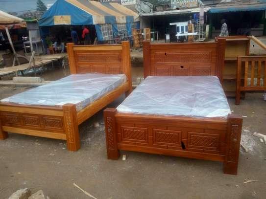 4*6 mahogany bed image 2