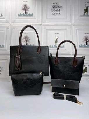 Black designer handbags image 1