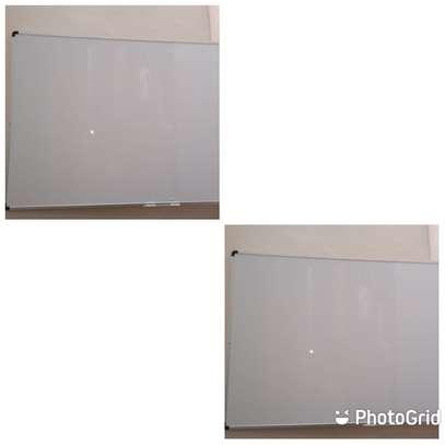 mobile single sided whiteboard 5*4ft image 1
