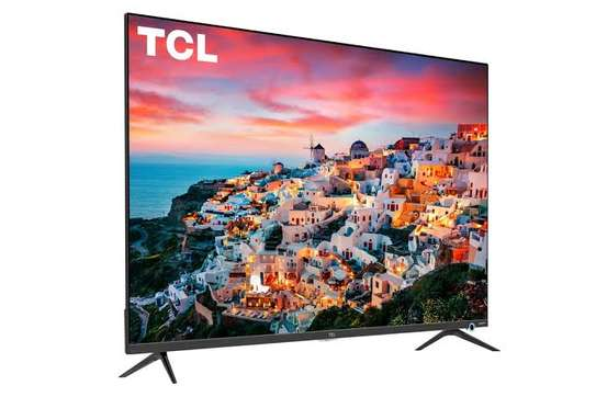 New TCL 43 inches IPQ-TV Android Smart UHD-4K Digital TVs image 1