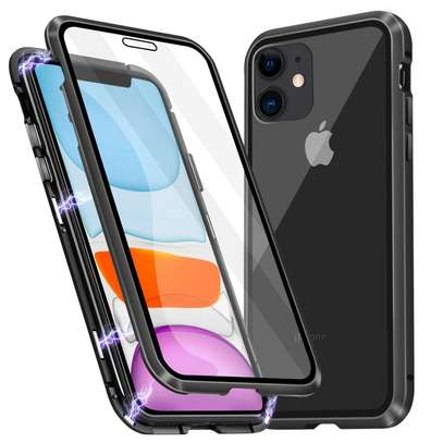 Magnetic Double-sided 360 Full Protection Glass Case for iPhone 11/11 Pro 11 Pro Max image 14