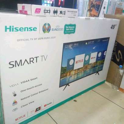 49 inch Hisense Smart Full HD television image 1