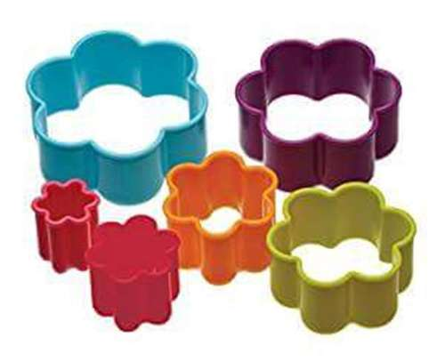 Plastic Dough Cookie Cutter, Assorted - 1 Set image 7