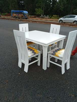 4seater dining set (Rectangle 4×3) image 1