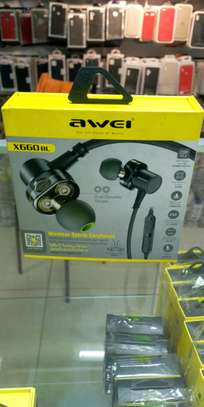 Awei Wireless Sports Earphones X660bl image 2