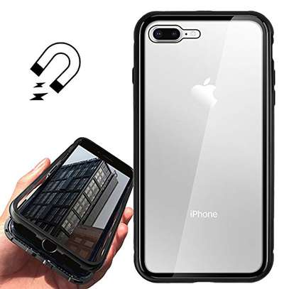 Magnetic Double-sided 360 Full Protection Glass Case for iPhone 7/8 image 8