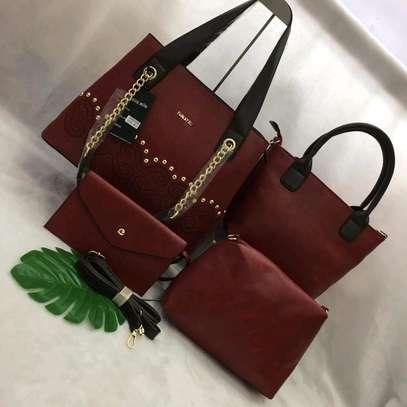 Leather Handbag Set image 1