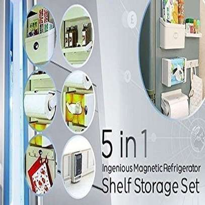 Reliable and strong 5 in 1 Magnetic Fridge Organisers image 2