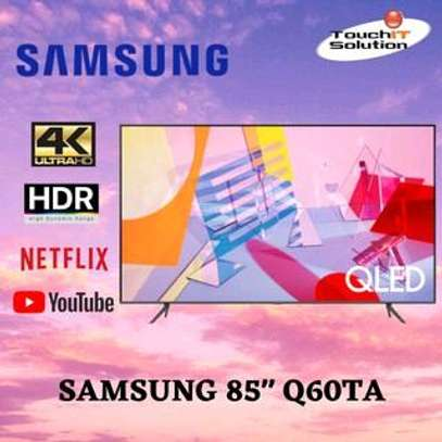 QA85Q60T Samsung Q60T 85 Inch QLED 4K Ultra HD Smart TV image 1