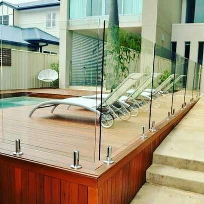 Architectural interior glass-works image 5