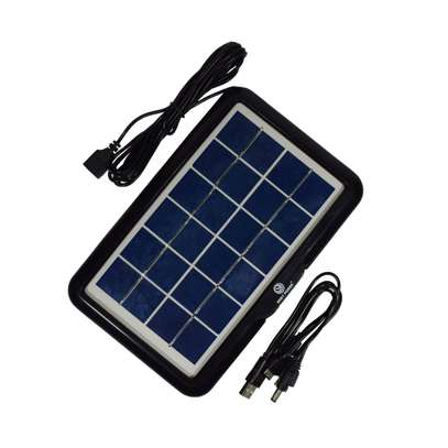 Universal solar phone charger.can charge all types of phones. image 1