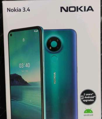 Nokia 3.4 brand new and sealed in a shop image 1