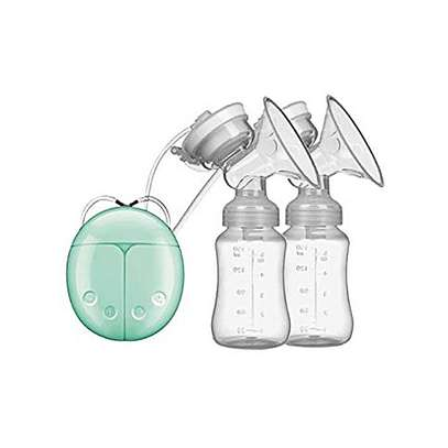 Electric Breast Pump, Portable Double / Single Quiet Comfort Breast Massager Suction Breastfeeding