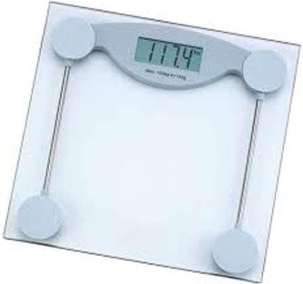 Bathroom health scale