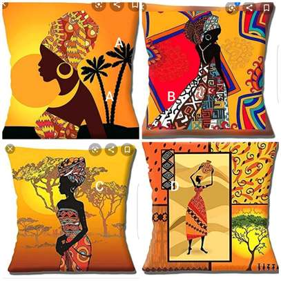 African themed throw pillow cases image 3