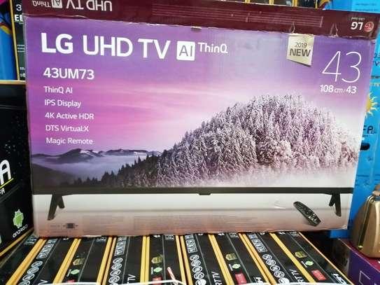 "LG 43"" smart 4k tv image 1"