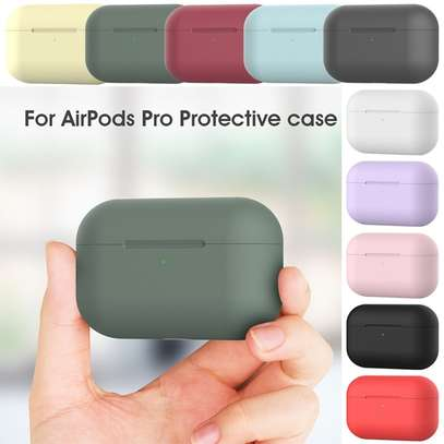 Silicone Case Protective Cover for Apple Airpods pro image 3