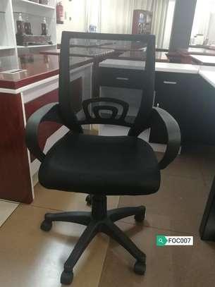 Medium back secretarial Chair image 1