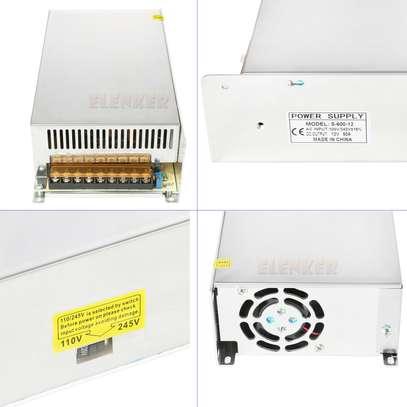 DC Power Supply 12V 50A AC 96V-240V Converter DC Adapter Universal Regulated Switching Power Supply 12Volt 600W (12V 50A 600W) image 1