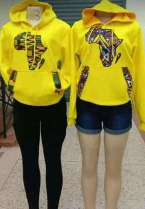Africa designed hoods and T-shirts. image 2