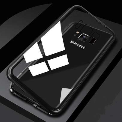Magnetic Luxury Cases For Samsung S8 S8 Plus With Tempered Back Glass image 7