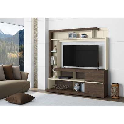 TV Wall Unit Rack ( Belaflex Tulum) - TV Space up to 55 Inches TV Space image 2