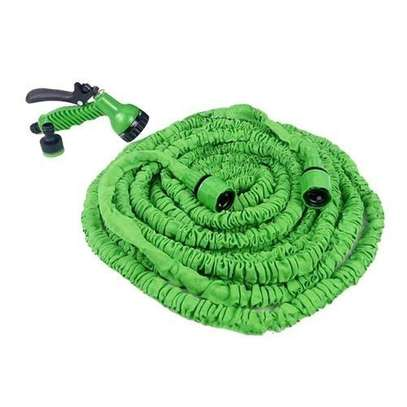 Magic Hose Stretch Flexible Expandable 3X Expanding Garden Hose Pipe Spray - Green