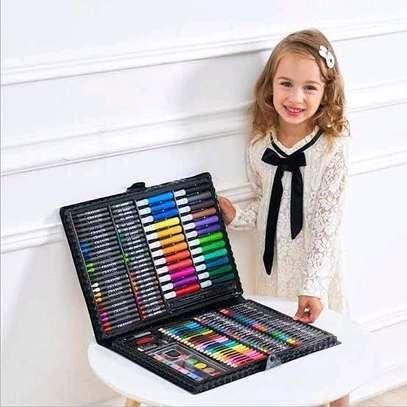 150  Kids colouring set image 1