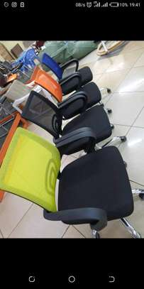 Office mesh chair in multiple beautiful colours image 1