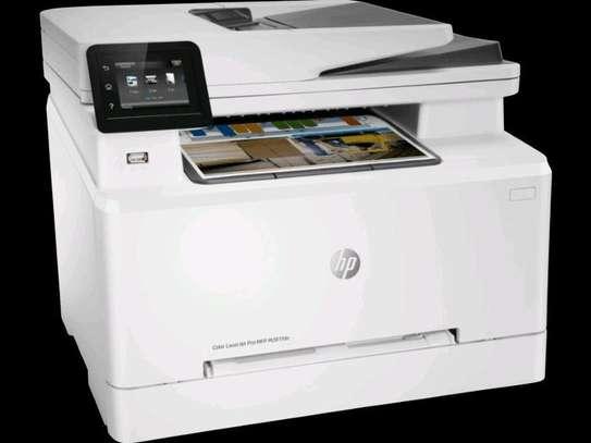 HP Color LaserJet Pro MFP M281fdn Print Copy Scan fax Wireless Printer image 3